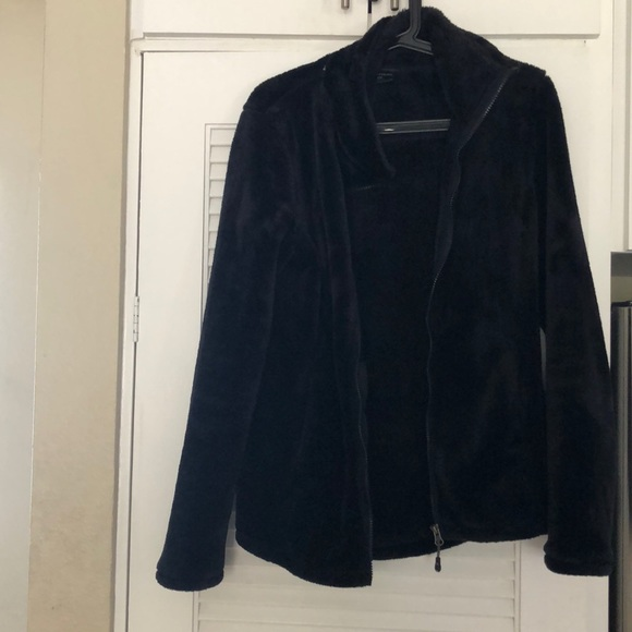 32 Degrees Jackets & Blazers - Worn once black fleece furry jacket